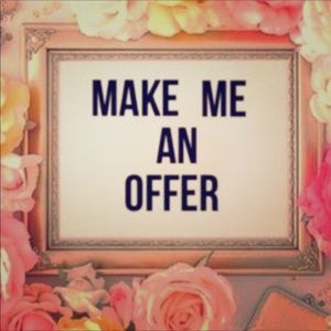 Make me an offer.